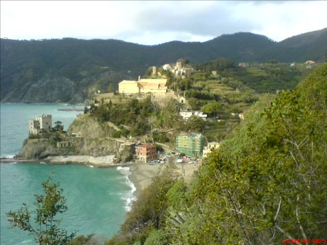 Aufstieg von  Monterosso