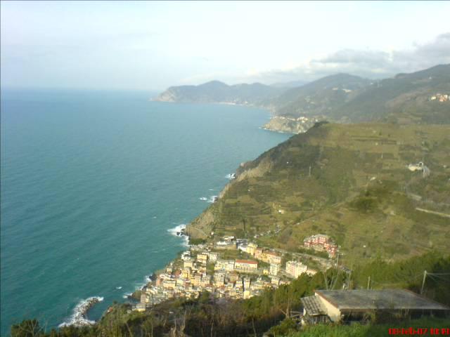 Rückblick nach Riomaggiore